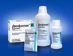 Слабительное пребиотик дюфалак
