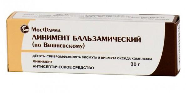 Мазь Вишневского при геморрое