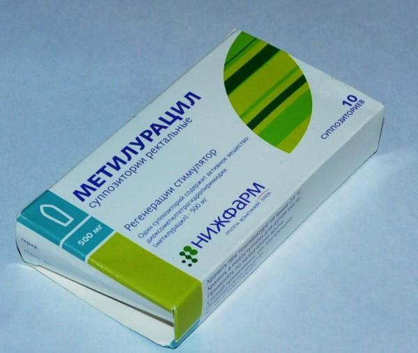 Метилурацил как действующее вещество
