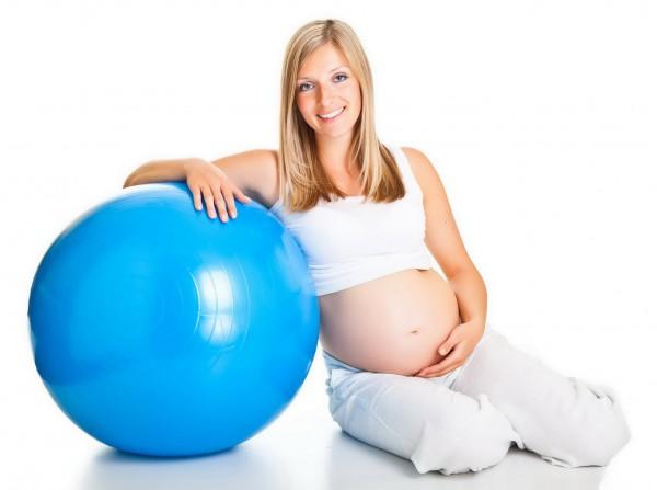 Беременная гимнастика
