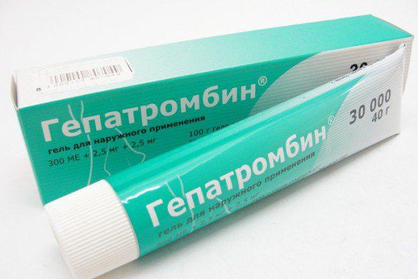 Гепатромбин гель